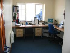 The station office, for all admin and which acts as an Operations Room during a service.