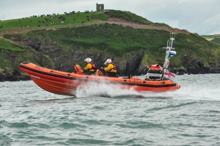 Crosshaven Lifeboat B-892 John and Janet. Free to use credit RNLI/Jon Mathers